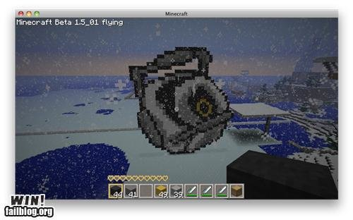 epic win photos space core minecraft win