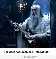 er - one does not simply....