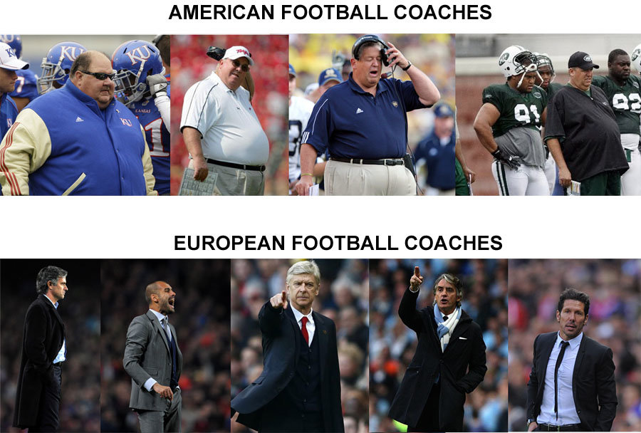 european football coaches american football coaches