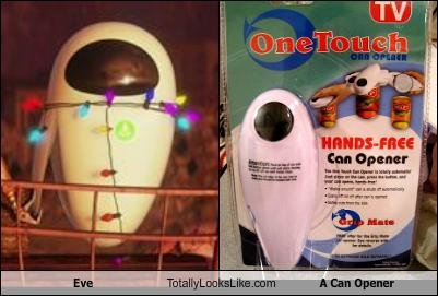 eve totally looks like can opener