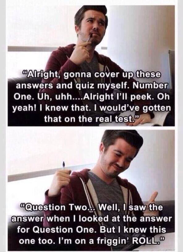 every time try study