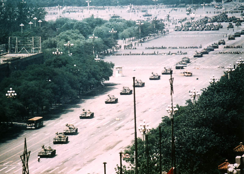everyone knows photo tankman stopping tanks but real photo