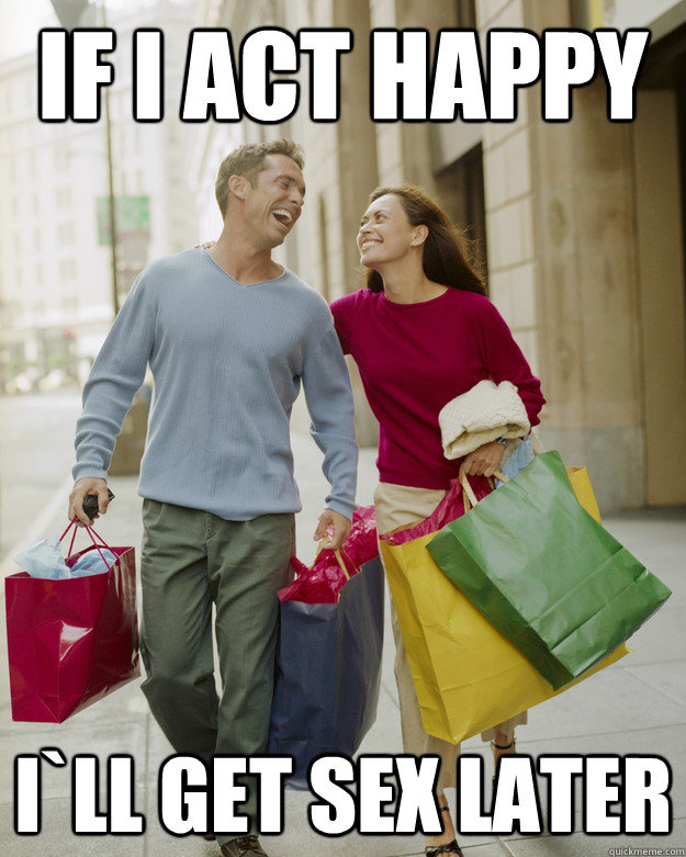 everytime shopping wife