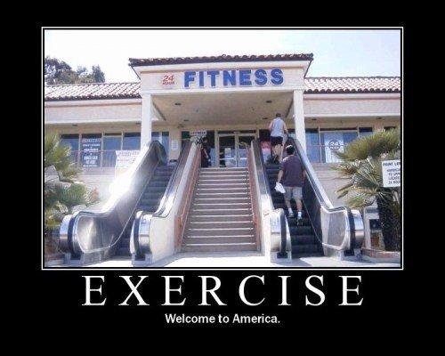 exercise - demotivational posters