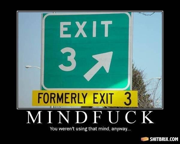 exit - when you see it....