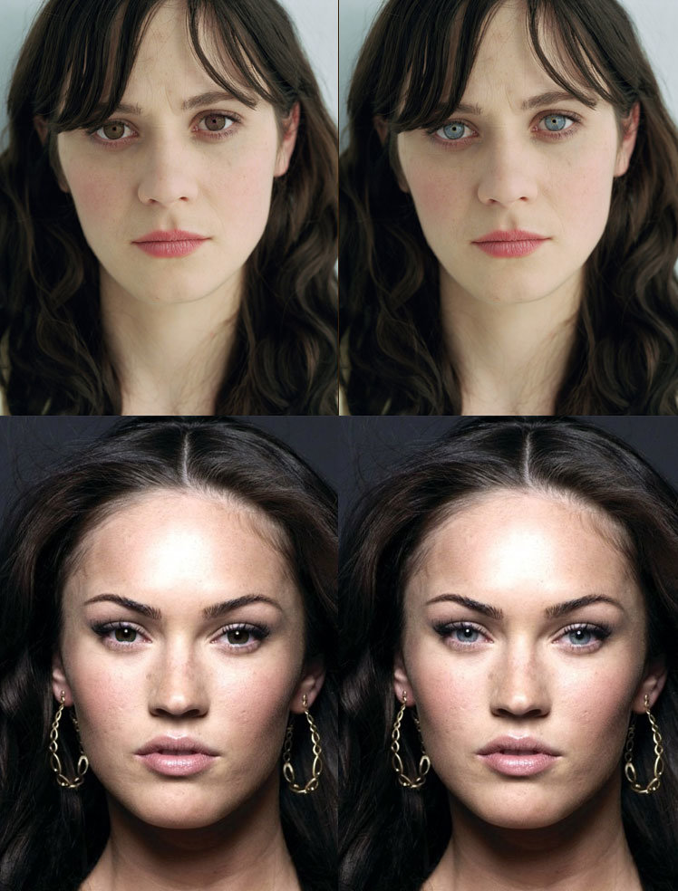 eye color perception beauty
