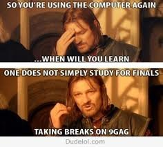 f - one does not simply....