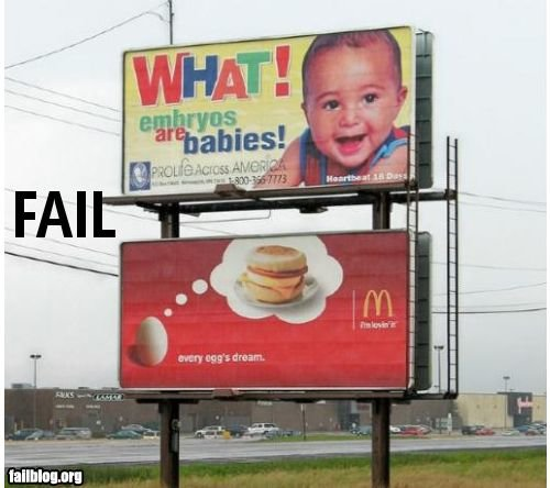fail owned billboard fail