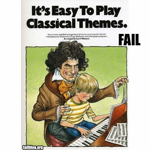 fail owned classical theme