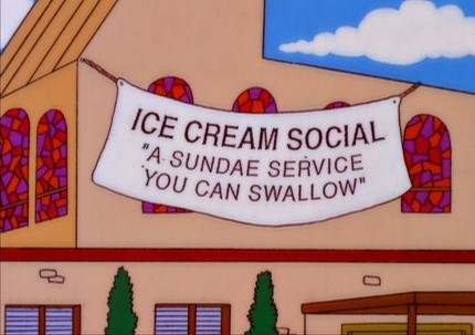 faitalian - funny signs from the simpsons