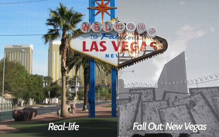 fallout 01 - fallout new vegas locations and reality