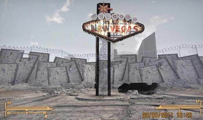 fallout 03 - fallout new vegas locations and reality