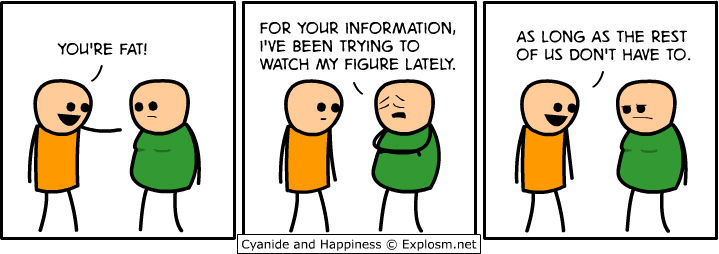 fat - cyanide and happiness collection three