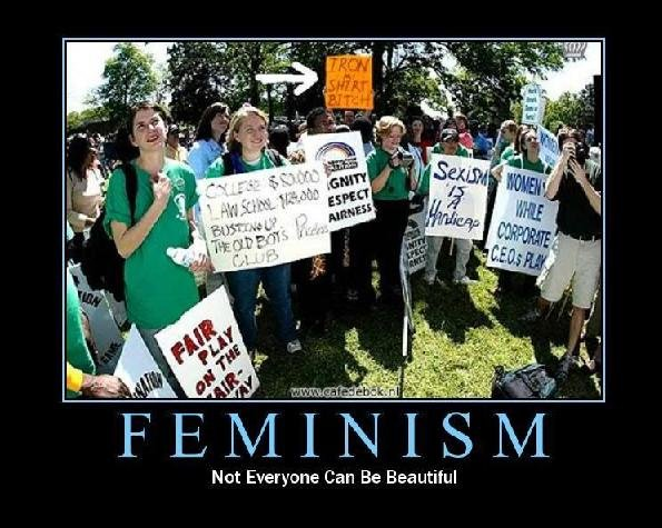 feminism - motivational posters... yes more