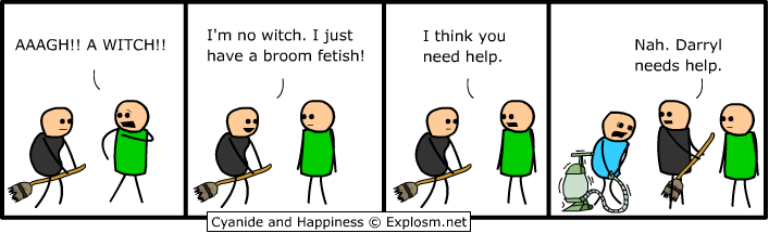 fetish - cyanide and happiness 1
