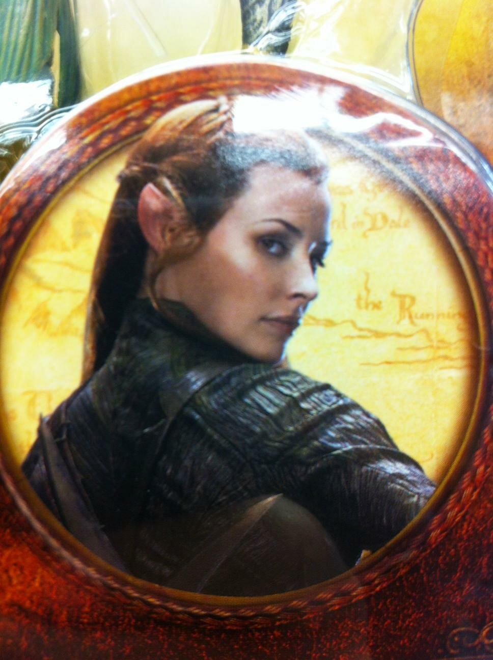 first image evangeline lilly hobbit