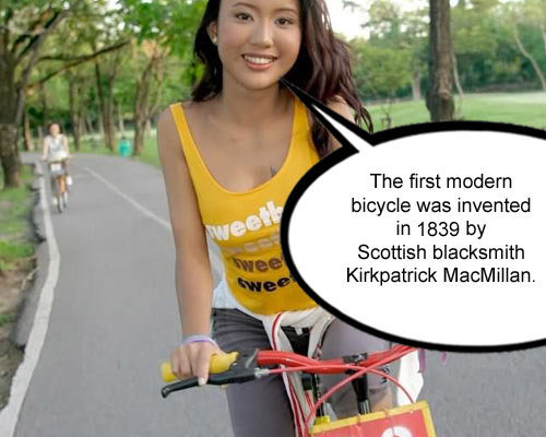 first modern bicycle inveted