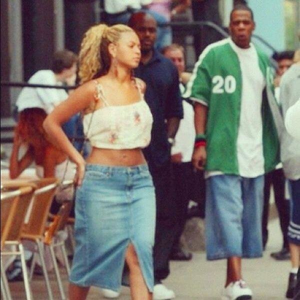 first time jayz saw beyonce