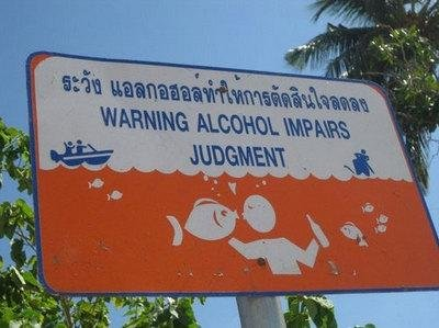 fish - this is wat happends (apparently) when u drink