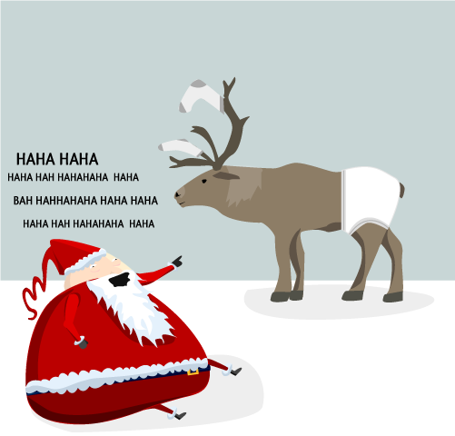 five - what santa really does when you're sleeping