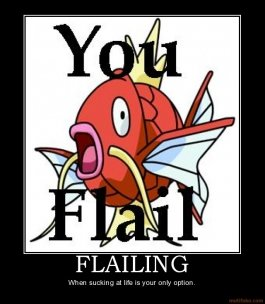 flail - my pokemans!