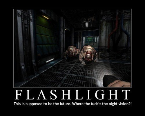 flashlight - more modivational and demodivational posters!
