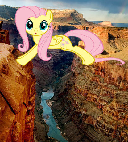 fluttershy grand canyon