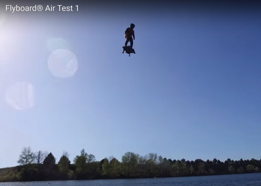 flyboard - visions of the future: how the future has changed