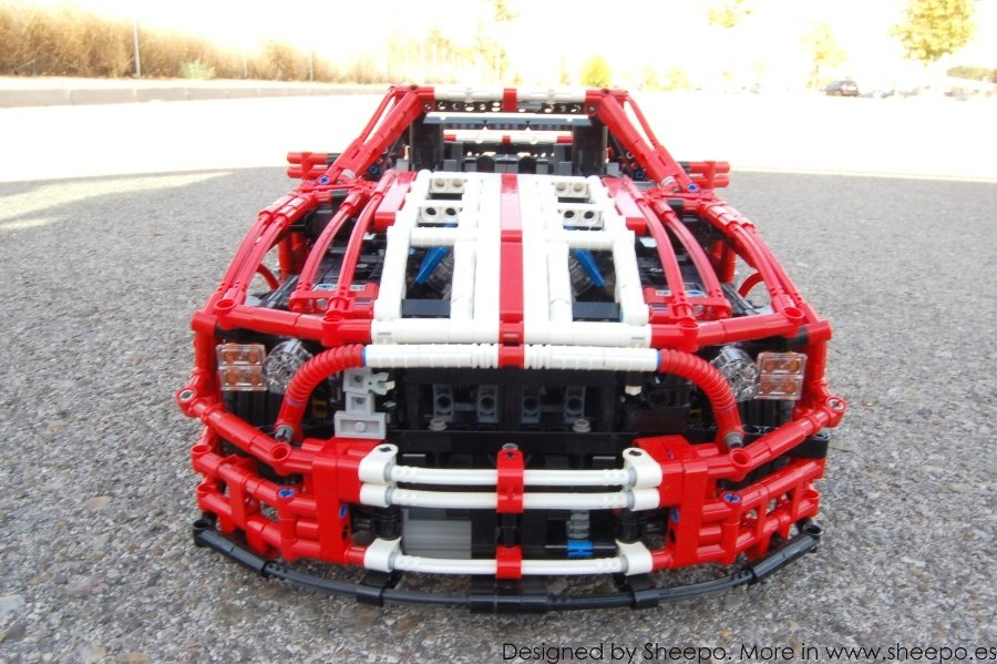 ford mustang lego car