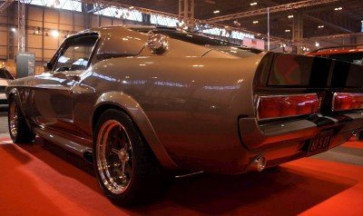 ford mustang rear wing
