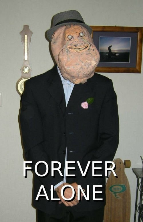 forever alone halloween costume