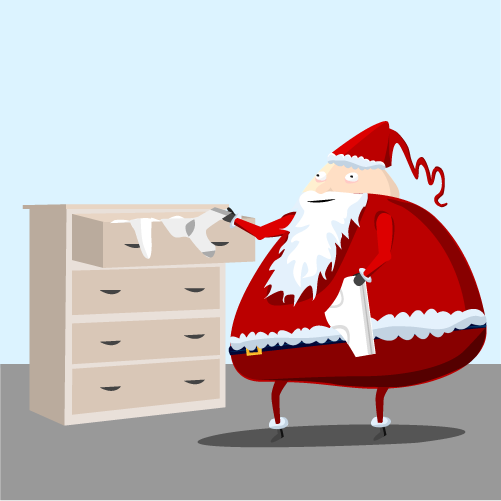four - what santa really does when you're sleeping