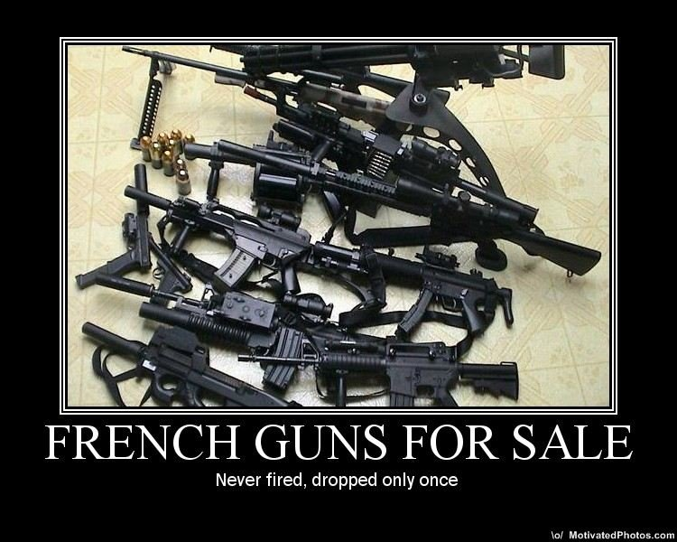 frenchgunsforsale - french demotivationals