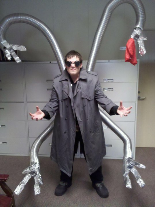 friends made doctor octopus costume