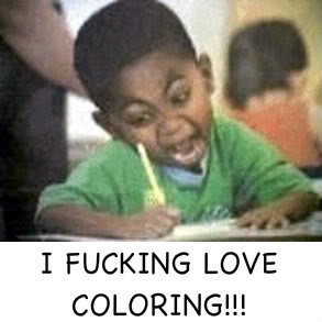 fucking love coloring