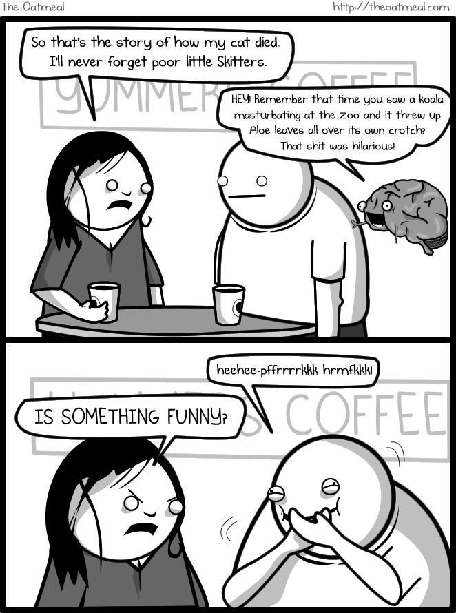 funny - if my brain were an imaginary friend