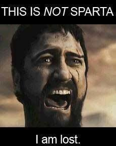 funny - this is sparta!!!