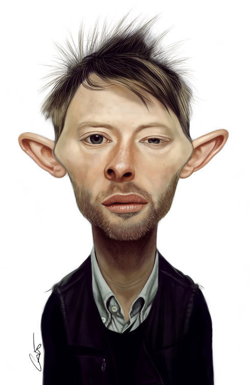 funny caricatures famous people