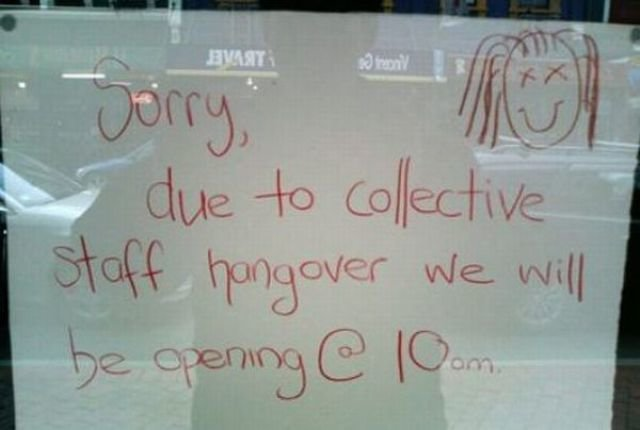 funny collection signs