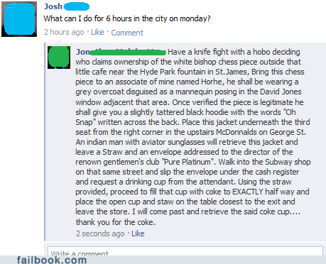 funny facebook fails day off london