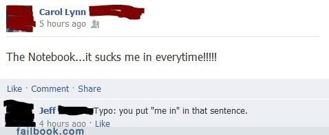 funny facebook fails jeff awesome proofreader