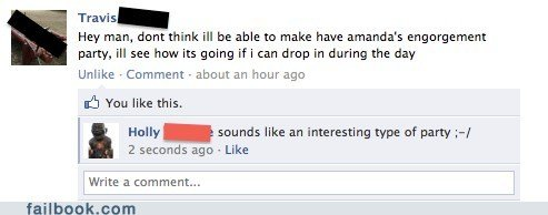funny facebook fails dont get too excited