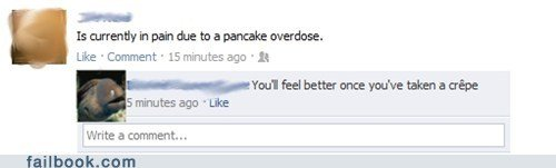 funny facebook fails dont let smell waffle too