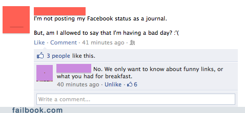 funny facebook fails thems rules