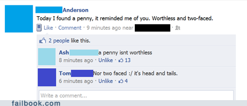 funny facebook fails only offensive harvey dent