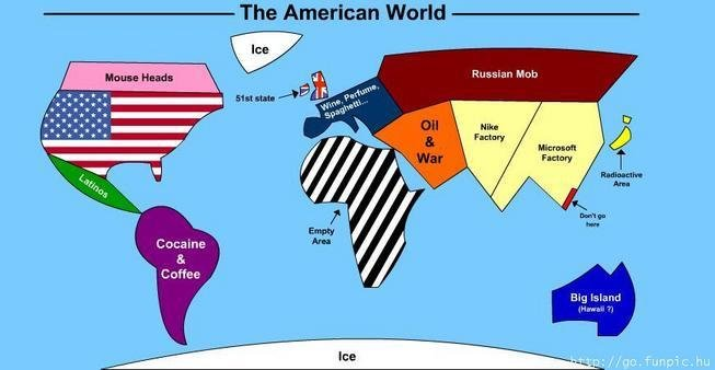 funny - funny american maps
