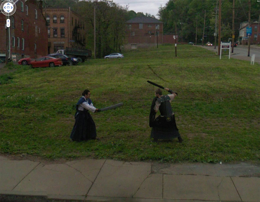 funny google street view photos