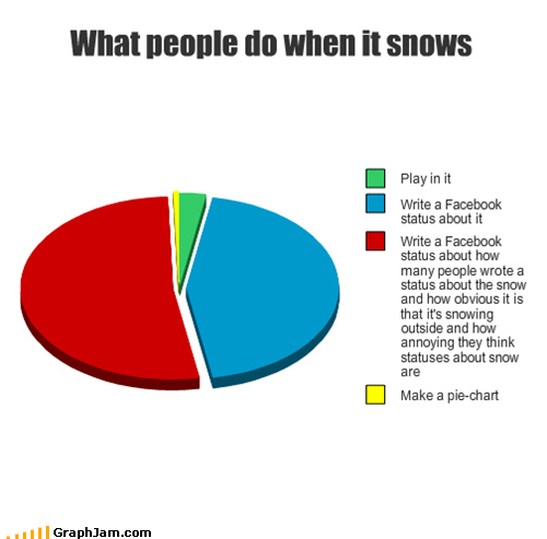 funny graphs what people when snows