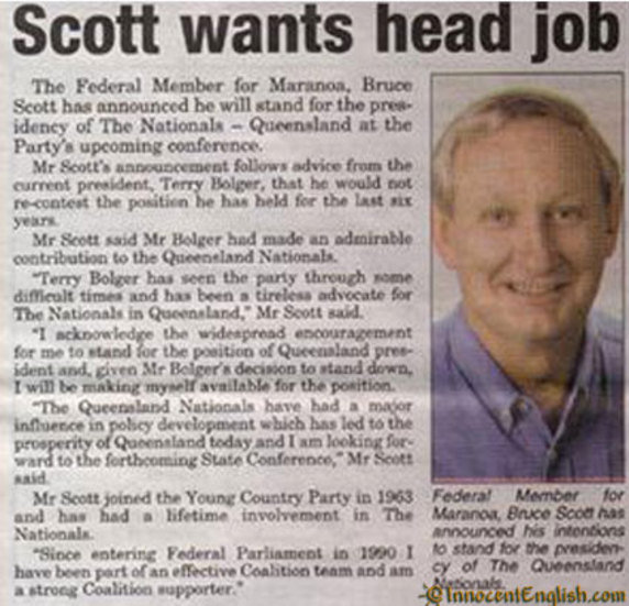 funny headline scott head job thumb