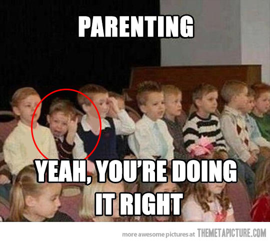 funny kid parenting done right